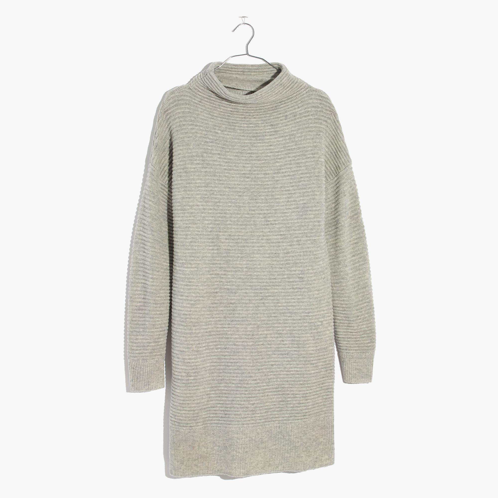 6480d926604 Madewell Skyscraper Sweater-dress in Gray - Lyst