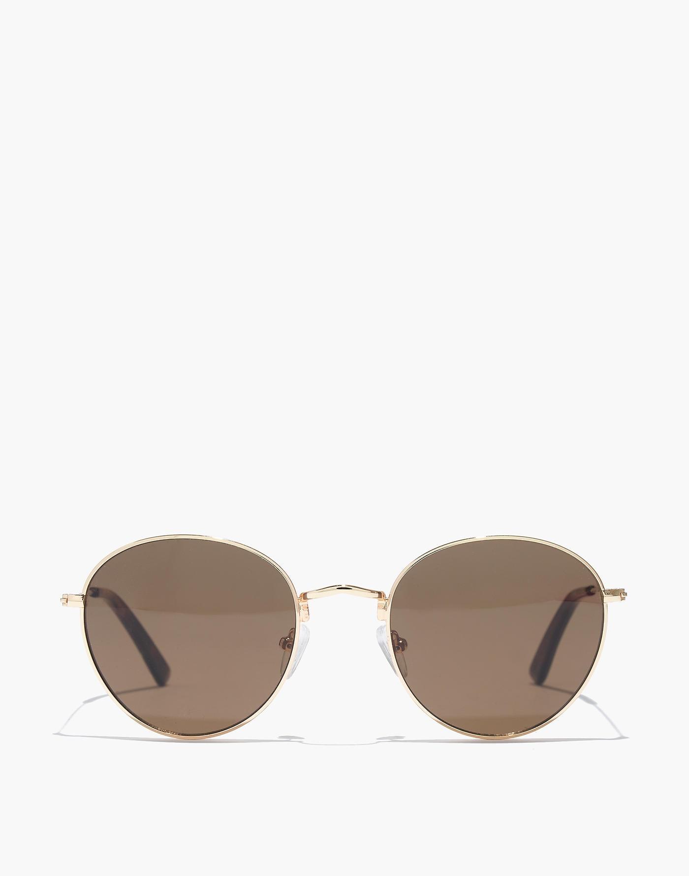 6c0a60ff34c06 Madewell Fest Aviator Sunglasses in Black - Lyst