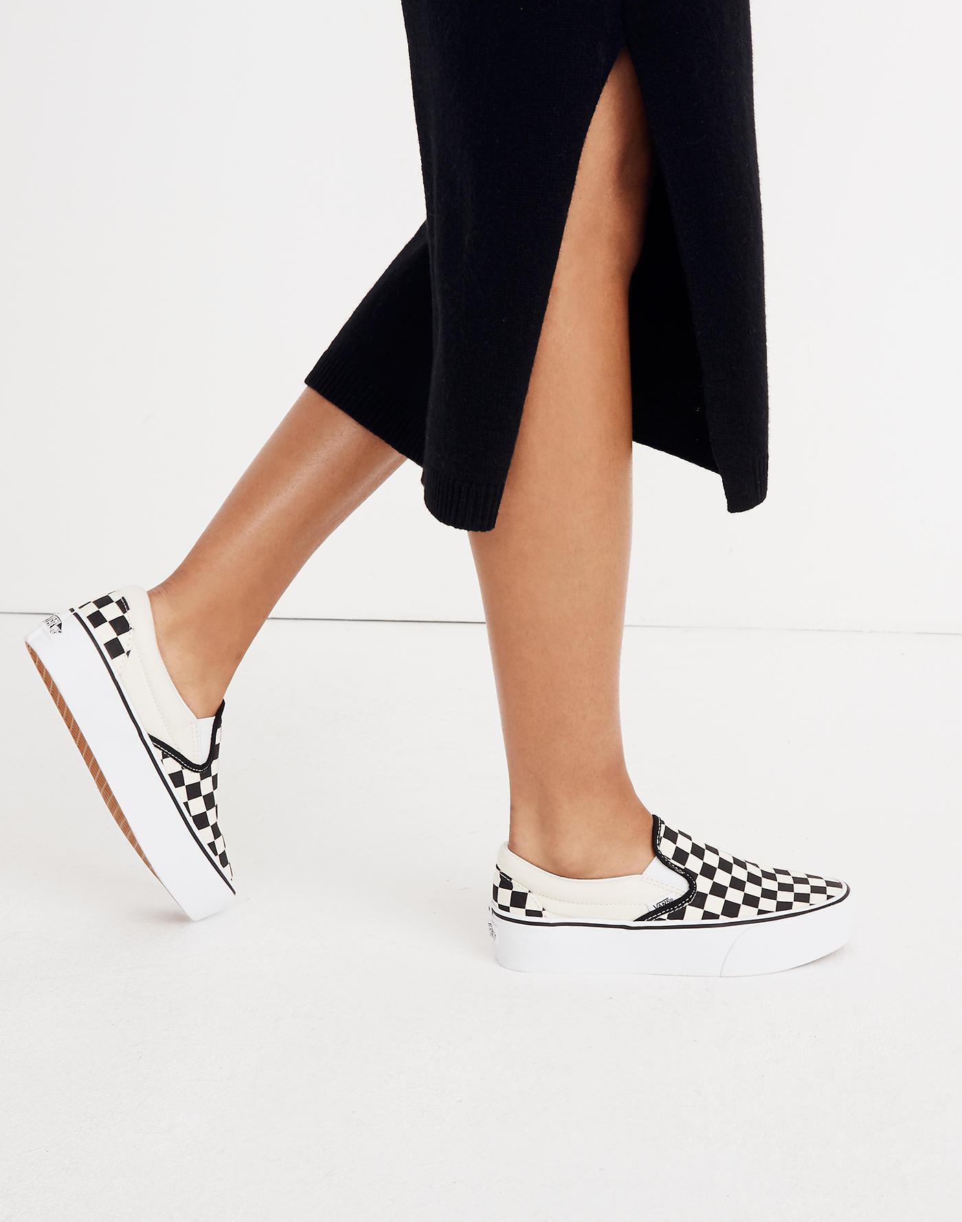 Madewell Vans® Unisex Classic Slip-on Platform Sneakers In ...