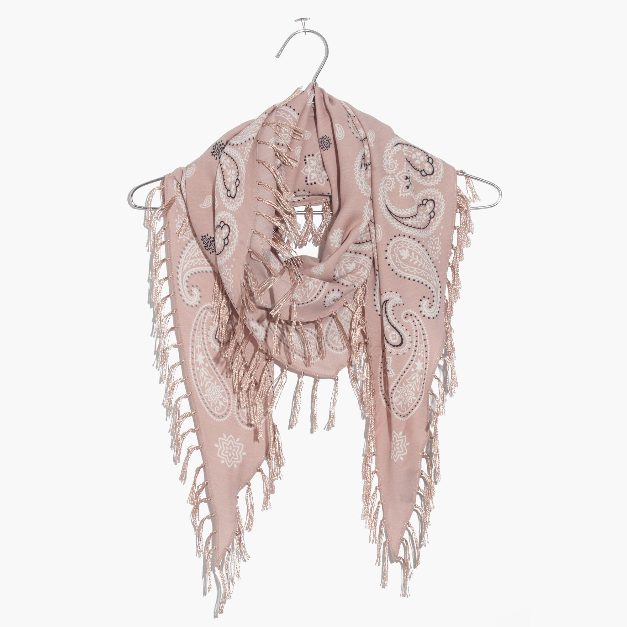498f34abec8 Madewell Multicolor Diamond-shaped Print Scarf
