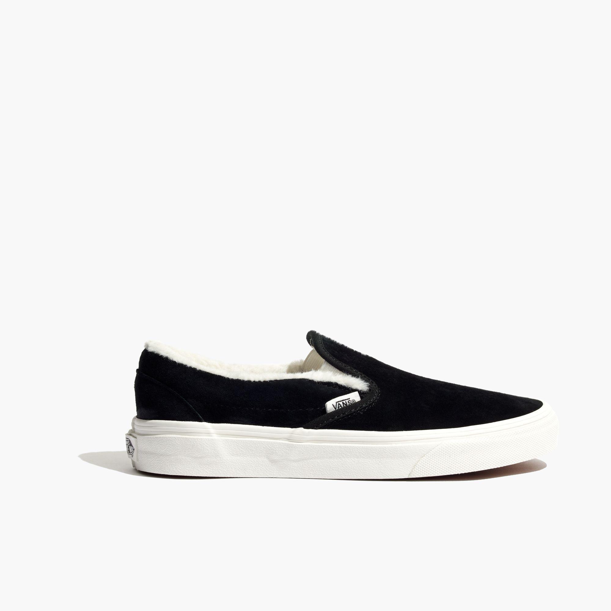 35b35831c65232 Madewell Vans® Unisex Weatherized Suede Slip-on Sneakers .
