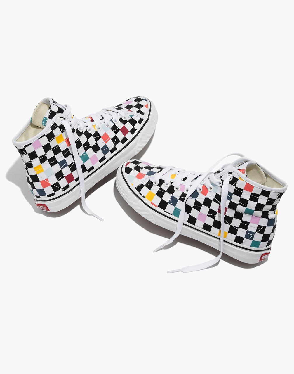 c84687f3c3452b Madewell Vans Unisex Sk8-hi Decon High-top Sneakers In Party ...