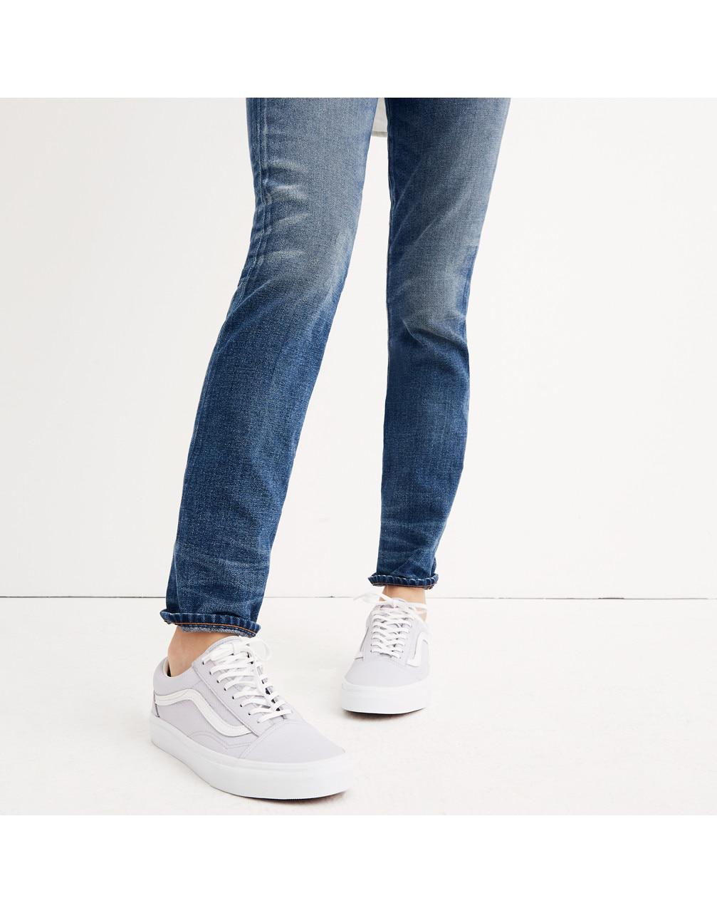 bba8ae5942 Lyst - Madewell X Vans Unisex Old Skool Lace-up Sneakers In Tumbled ...
