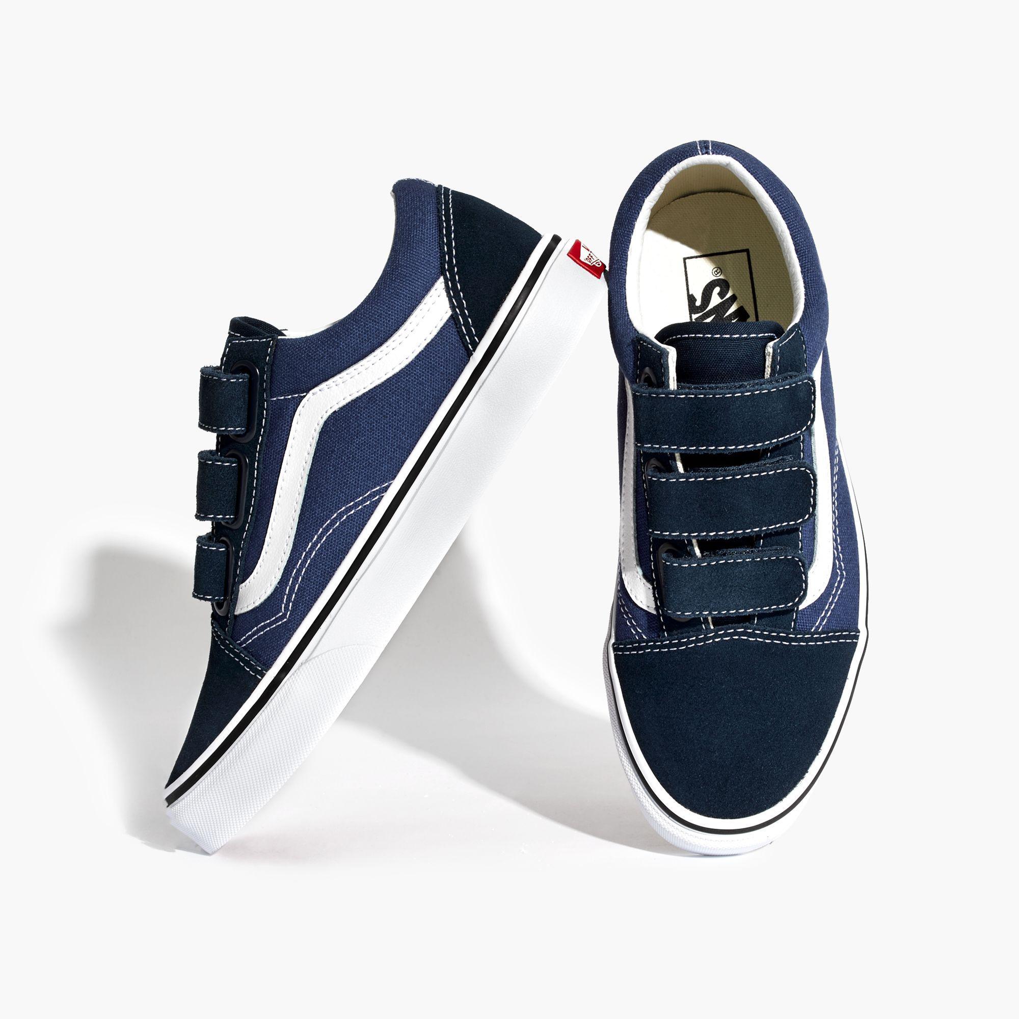 Lyst - Madewell Vans Unisex Old Skool Velcro Sneakers In -1119
