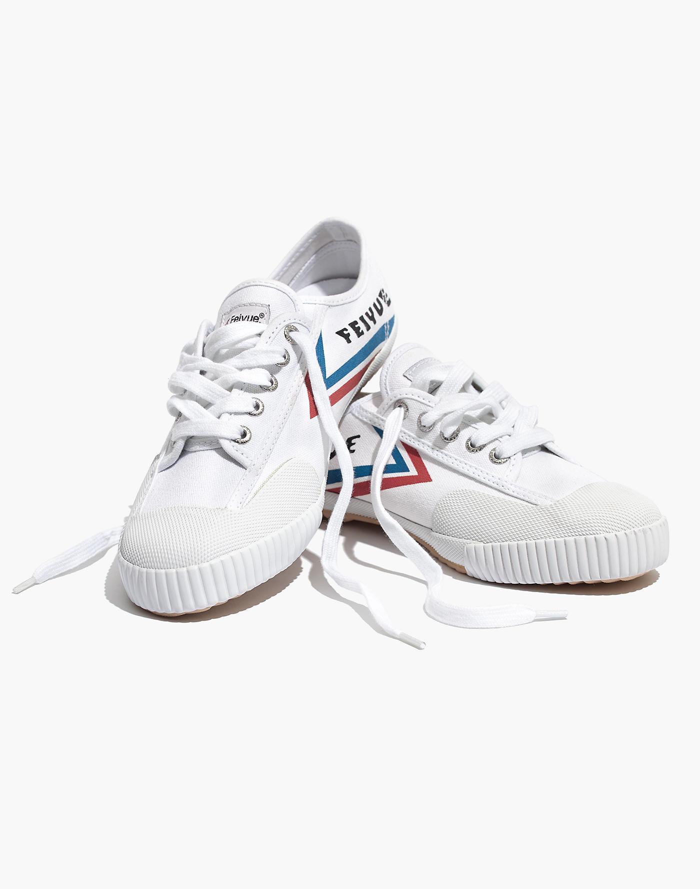 Fe Women's Feiyue® Lo White Classic Sneakers b6Y7gfy
