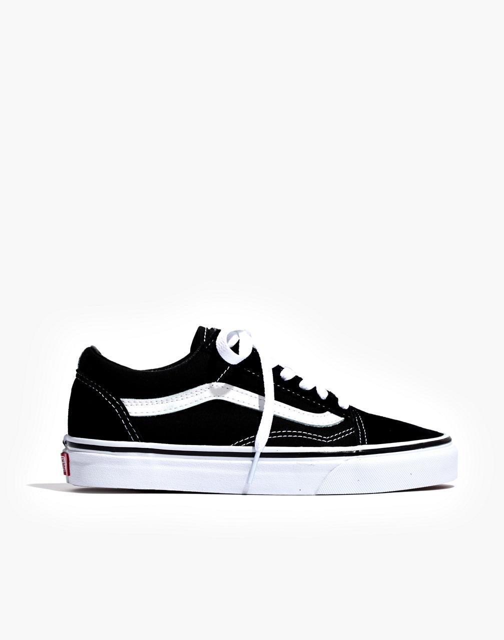 431f7c70ea4357 Lyst - Madewell Vans Unisex Old Skool Lace-up Sneakers in Black