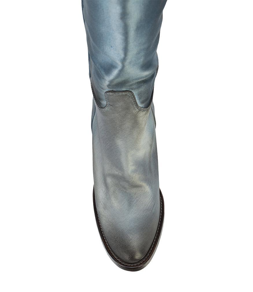 7fea27ee96a7 Lyst - Silvano Sassetti Knee-high Cowboy Boots in Blue