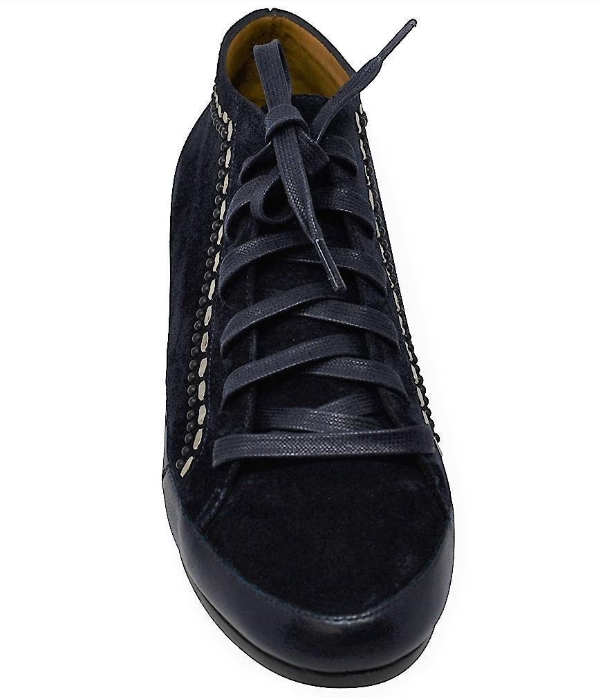 b682479e636d Lyst - Calleen Cordero Night Sky Nix Mid Top Sneaker in Blue