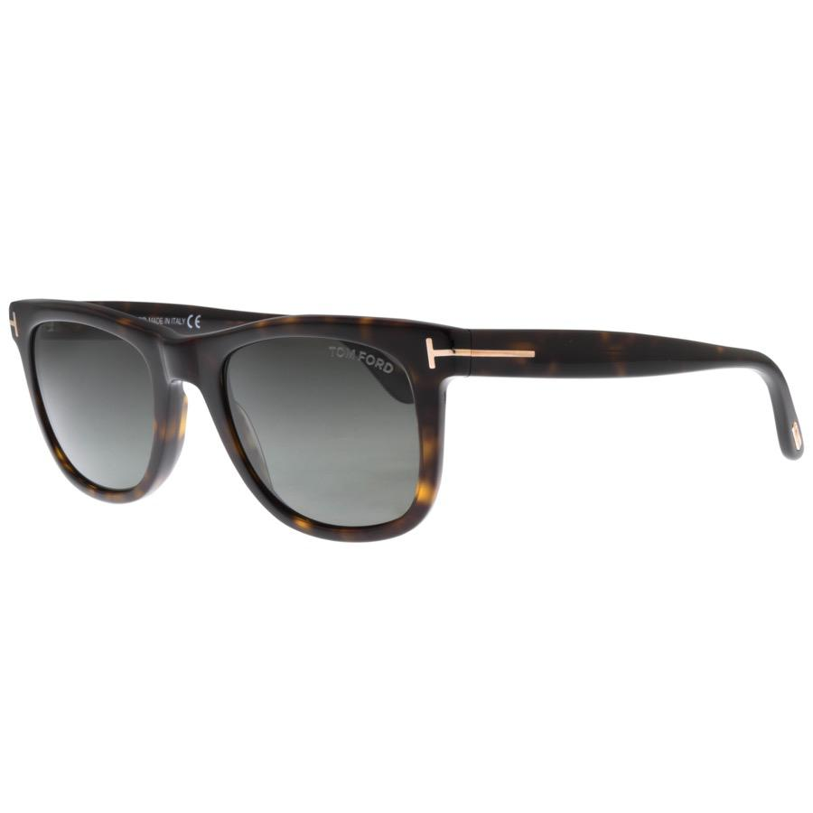 9313852f5df2 Lyst - Tom Ford Leo Sunglasses Brown in Brown for Men