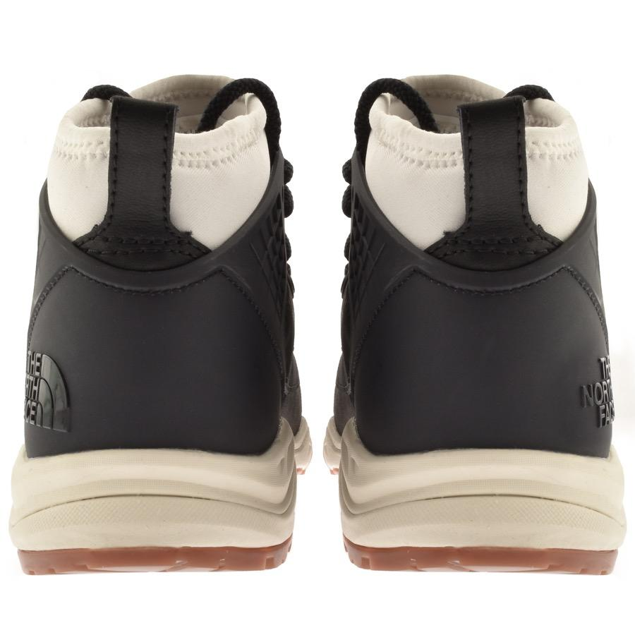 Leather Dellan Mid Trainers Grey