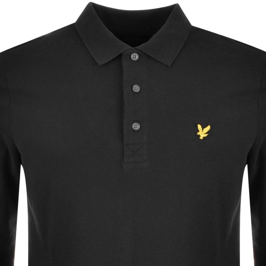 Lyle /& Scott Long Sleeve Blue Dust Rugby Polo Shirt