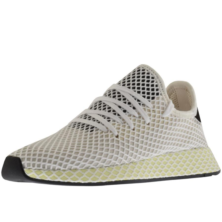 45bec0f7daee1 Lyst - adidas Originals Deerupt Runner Trainers White in White for Men