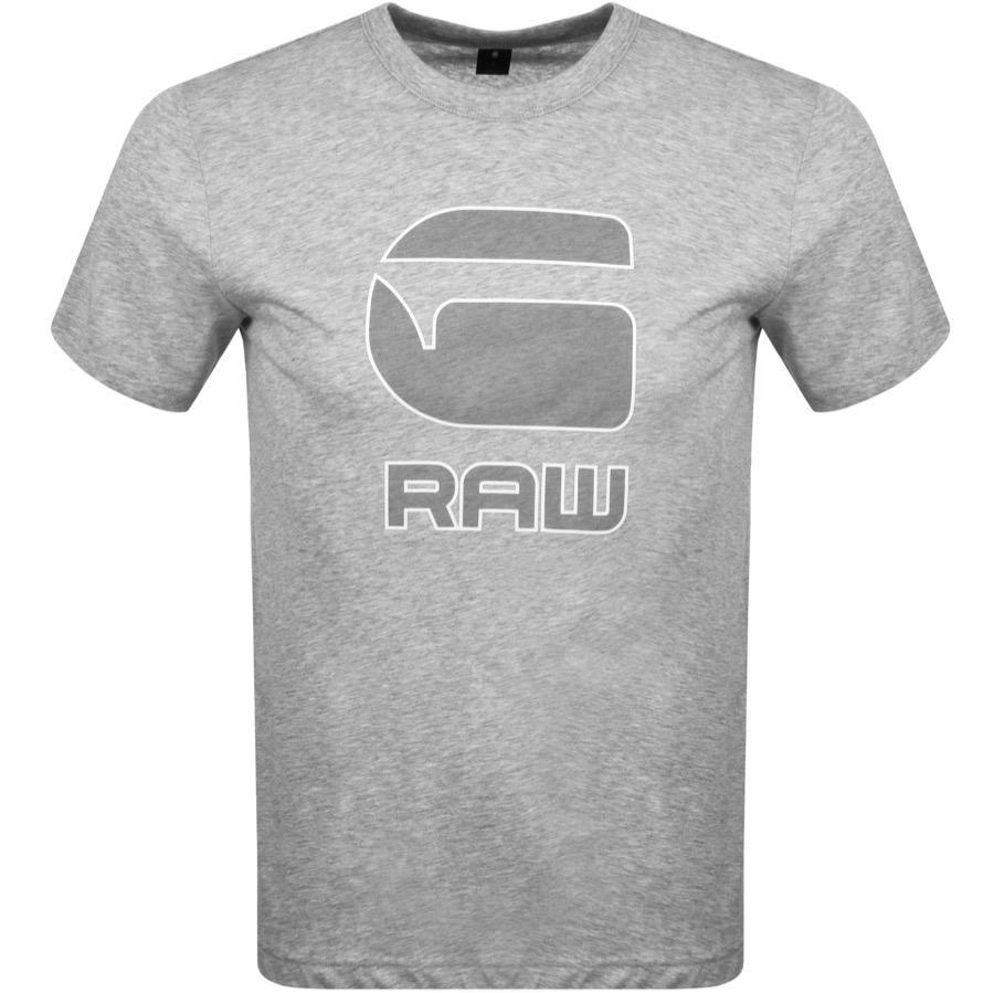 a7e5a1e68c G-Star RAW Cadulor T Shirt Grey in Gray for Men - Lyst