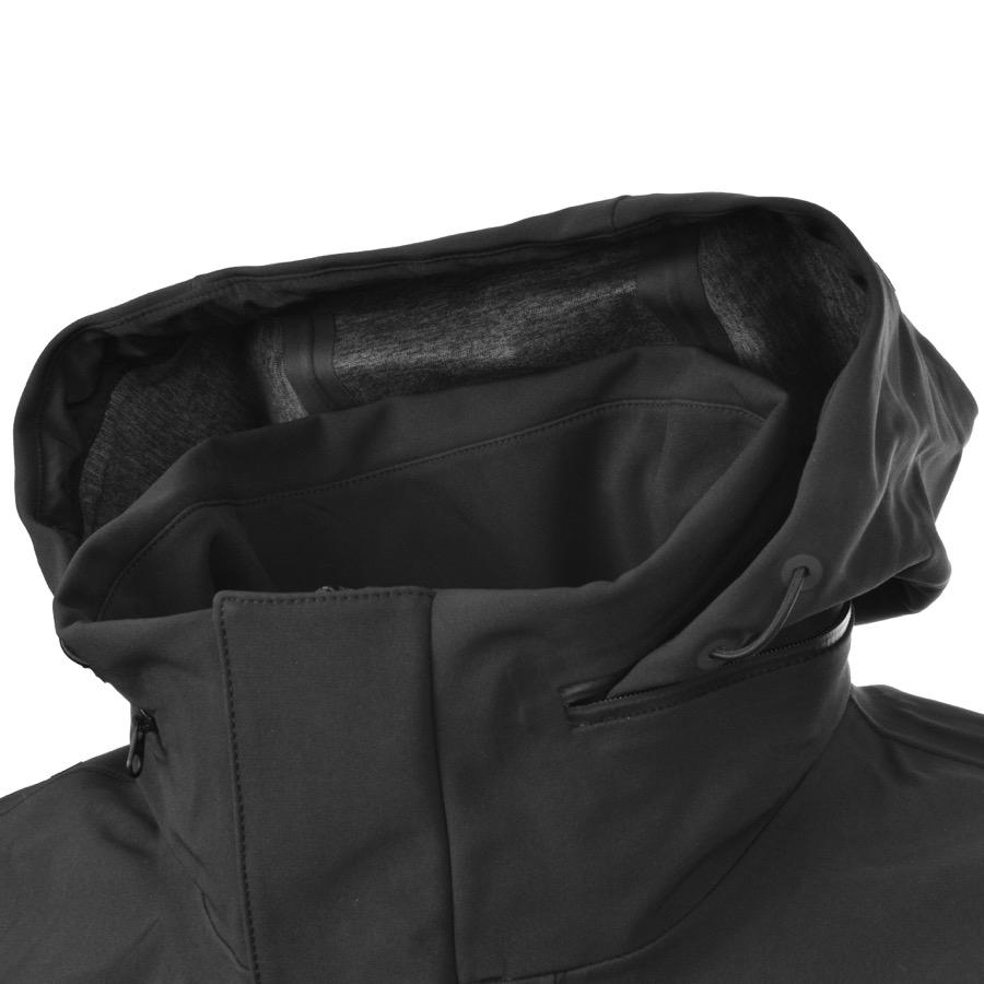 The North Face Synthetic Flex Gortex Parka Jacket Black for Men