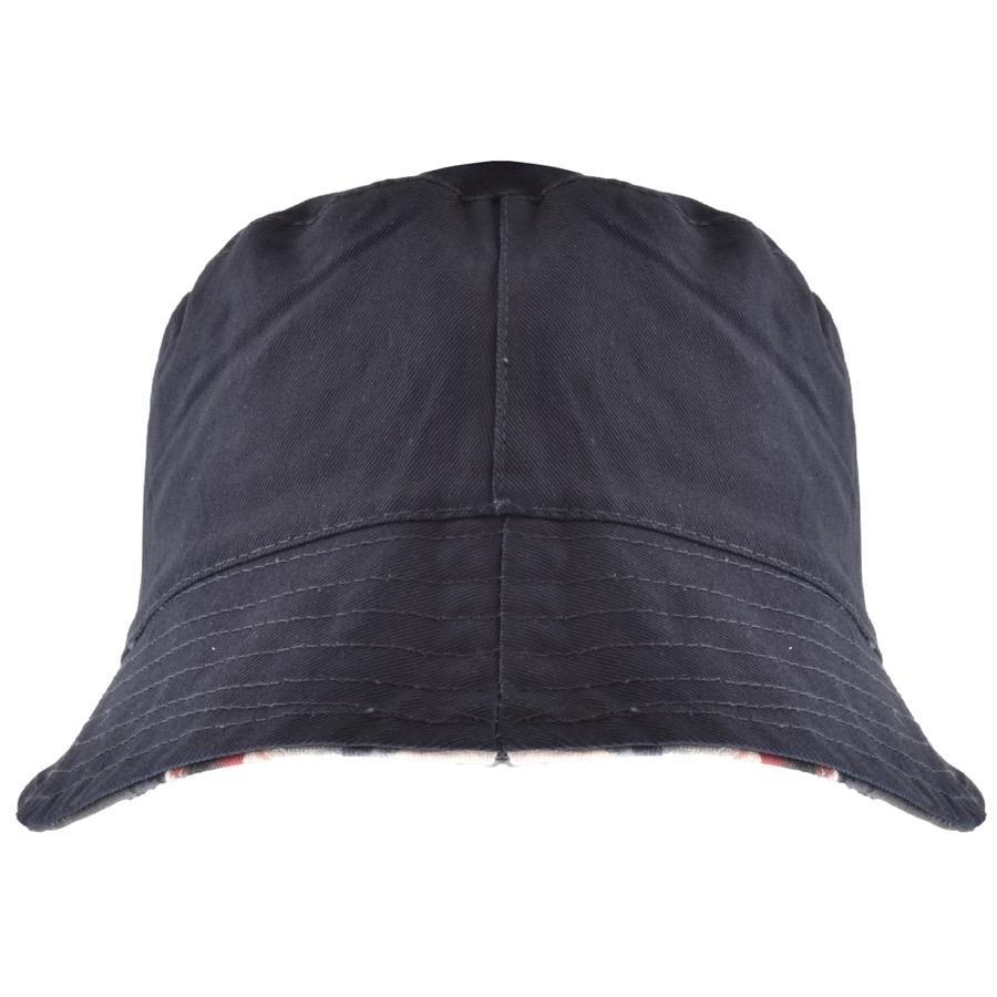 f23285d6dc8 Lyst - Pretty Green Reversible Union Jack Bucket Hat Navy in Blue ...