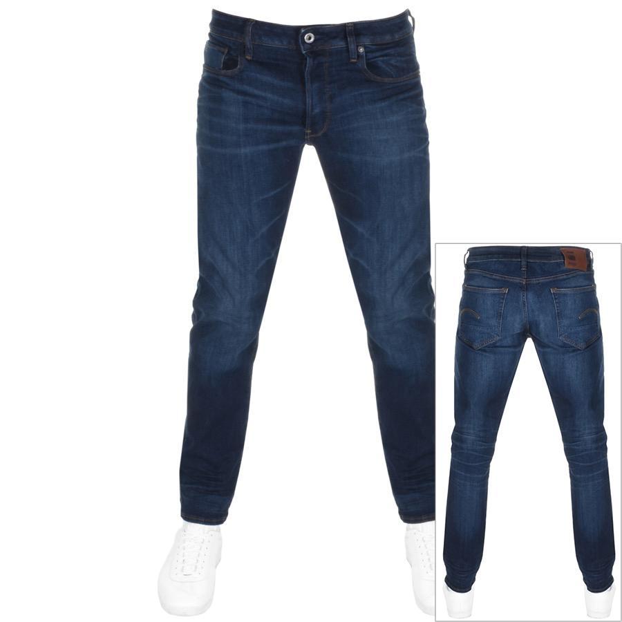 Mens G-Star Raw Arc Zip 3D Loose FIT Tapered Black Effer Denim Jeans 5,