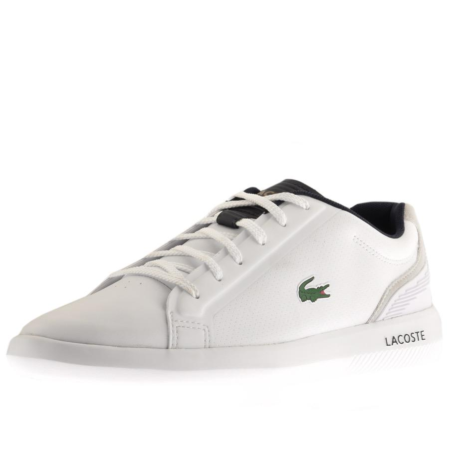 d7909de7f7077c Lacoste - Avantor Spm Trainers White for Men - Lyst. View fullscreen