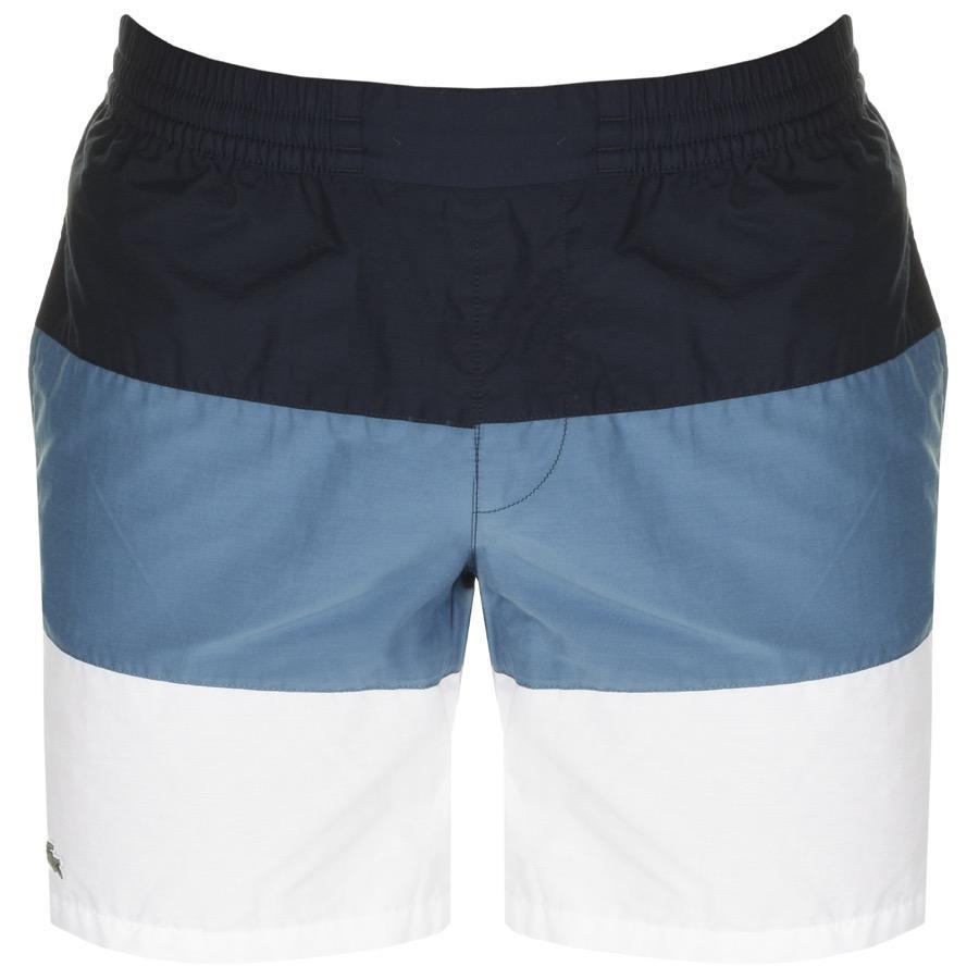 123b18a4084 Lacoste Colour Block Swim Shorts Navy in Blue for Men - Lyst