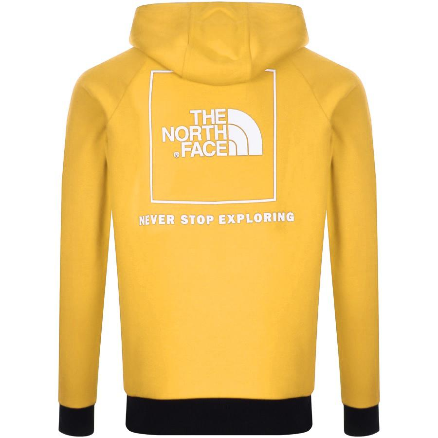 1e680fc14 The North Face Raglan Hoodie Yellow in Yellow for Men - Lyst