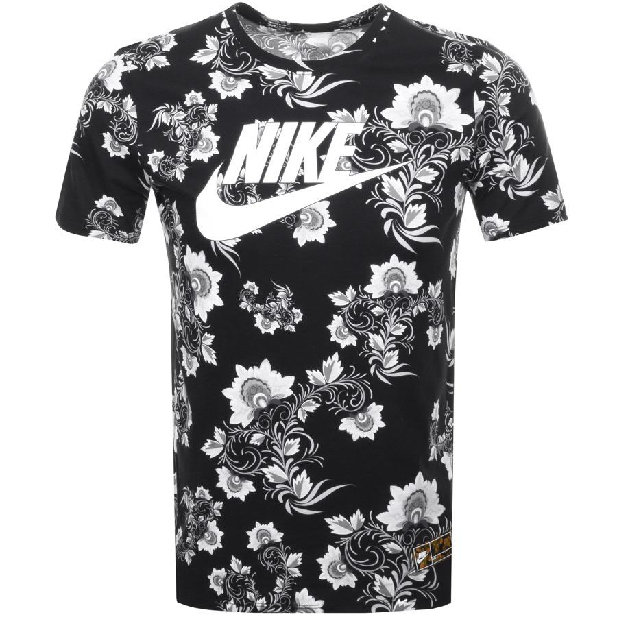nike floral t shirt