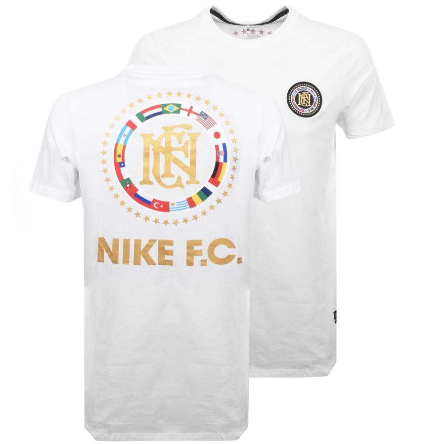 nike f.c flag shirt