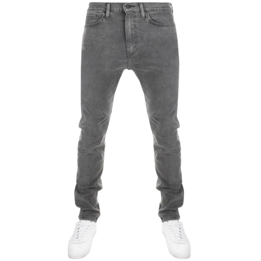 Levi's Denim 510 Skinny Fit Jeans Grey in Grey for Men
