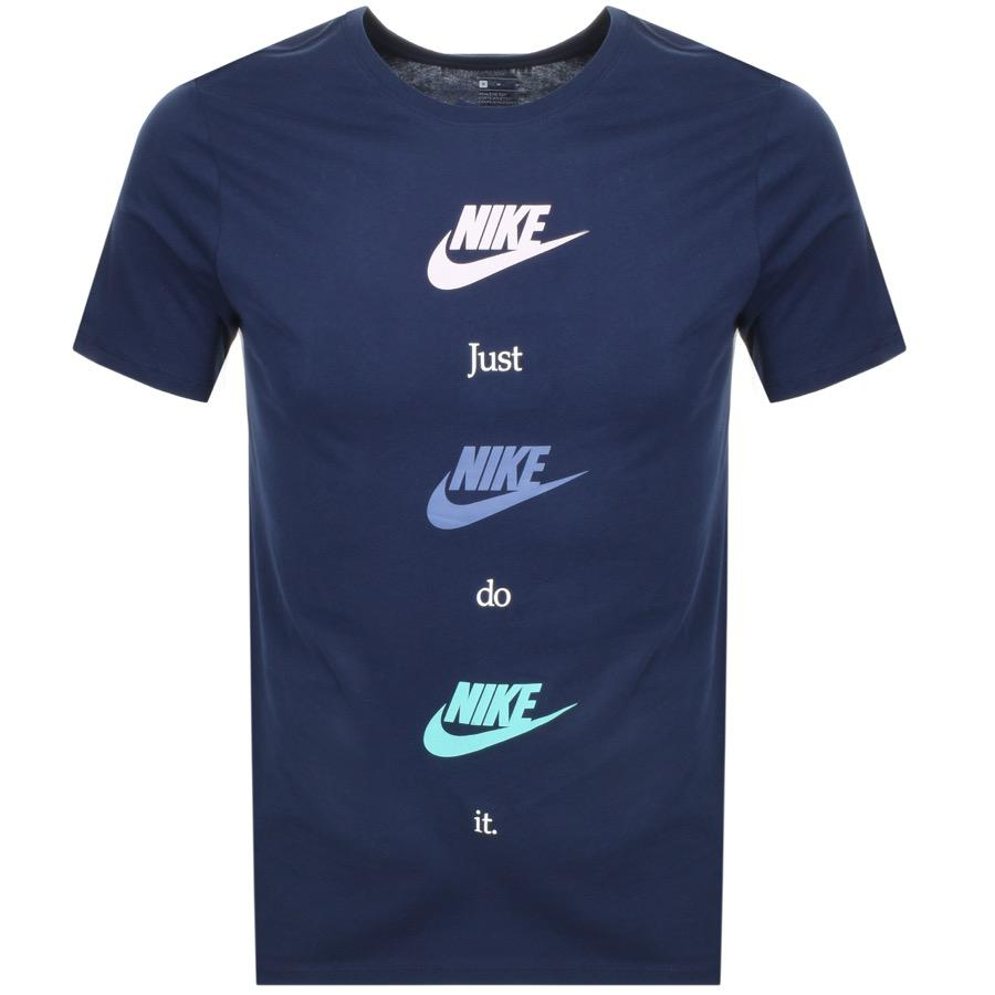 9fad72f6c Lyst - Nike Table Hbr 20 T Shirt Navy in Blue for Men
