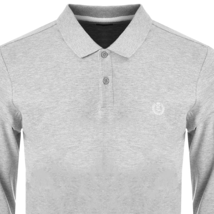 693541edc Lyst - Henri Lloyd Musburry Long Sleeve Polo T Shirt Grey in Gray ...
