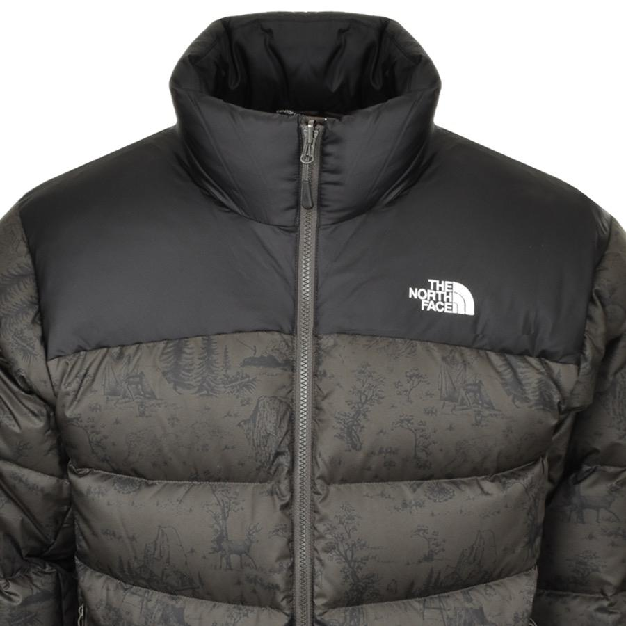 102a7671bb The North Face Nuptse 2 Jacket Green in Green for Men - Lyst