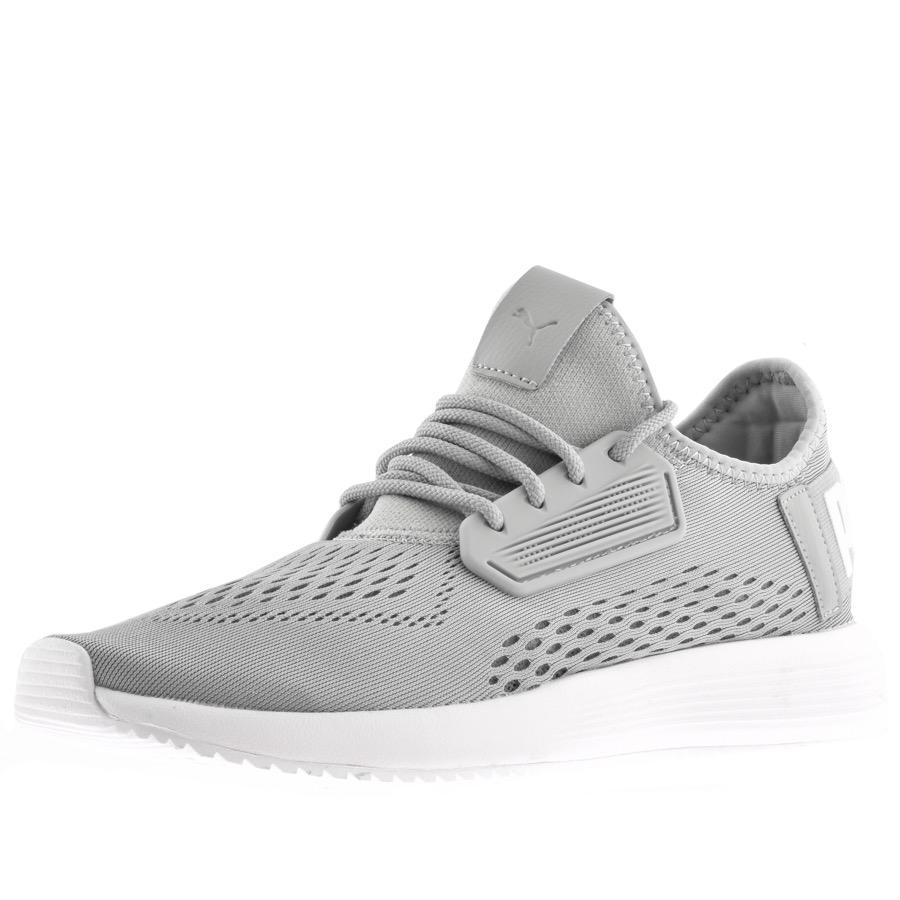 PUMA Uprise Mesh Trainers Grey in Grey