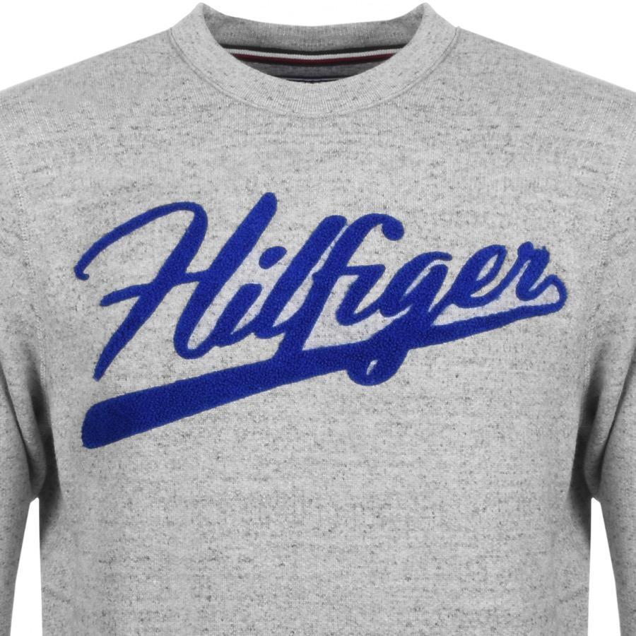 51f7d2b67959 Tommy Hilfiger Iggy Logo Sweatshirt Grey in Gray for Men - Lyst
