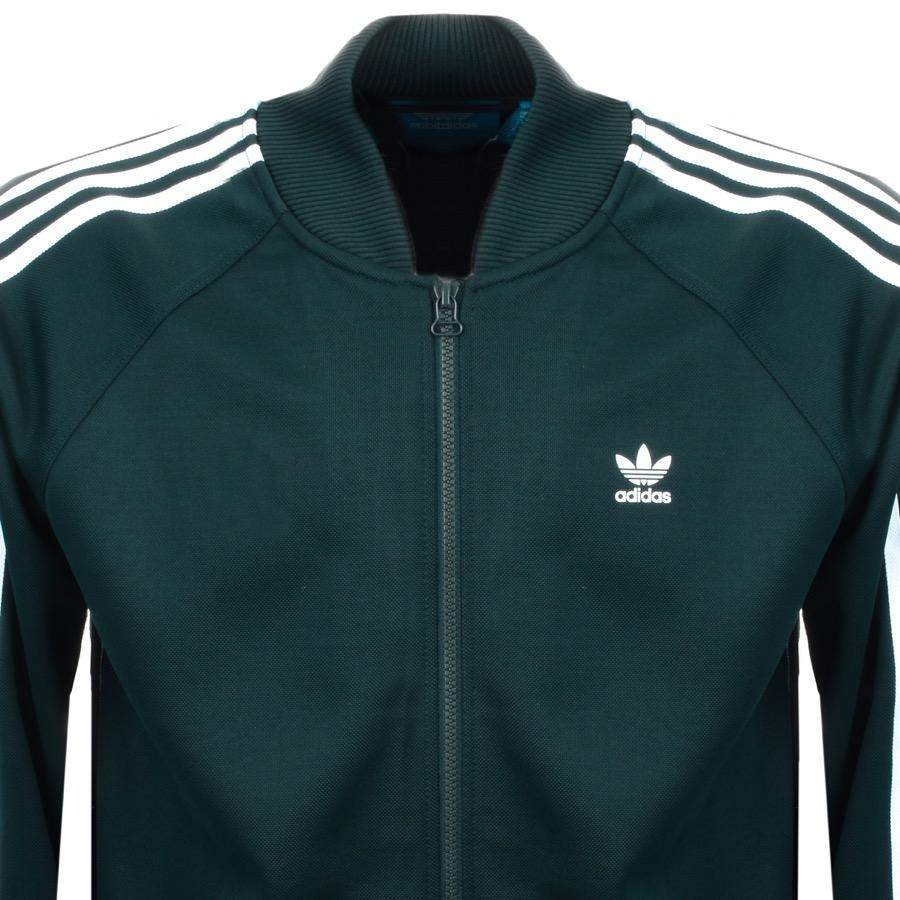 1dd19fceb301 Lyst - Adidas Originals Adc Track Top Green in Green for Men