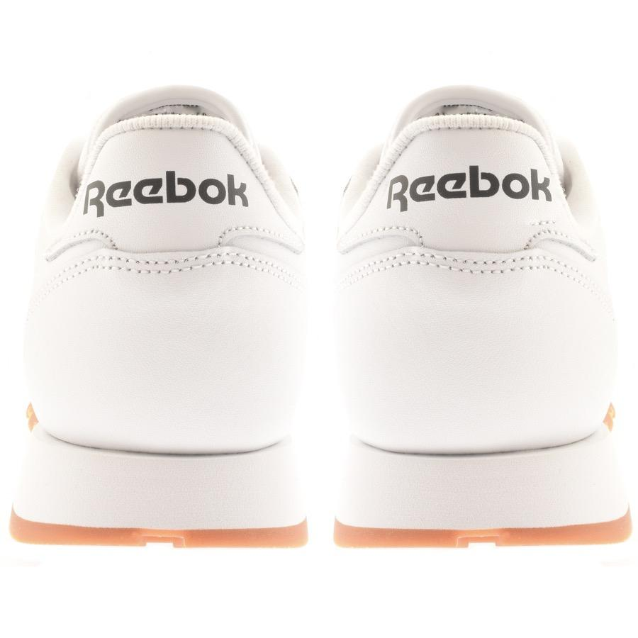 Reebok Classics Cl Leather Trainers White for Men