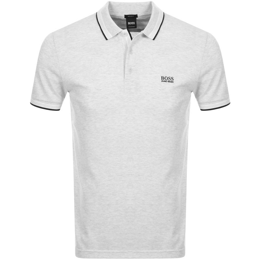2abe6a42 Lyst - BOSS Athleisure Paddy Polo T Shirt Grey in Gray for Men
