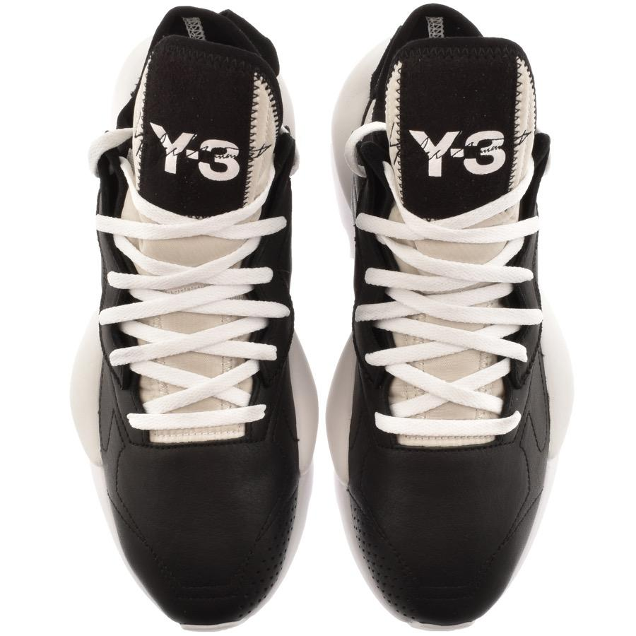 Y-3 Lace Kaiwa Trainers Black for Men