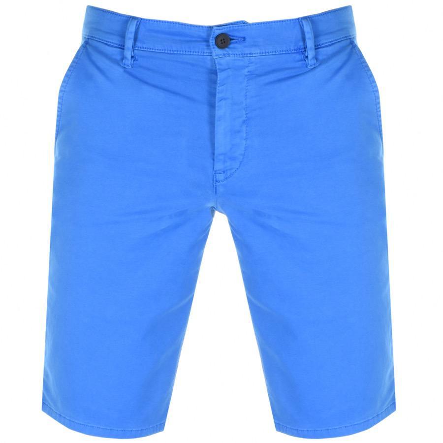 42767716 Boss By Hugo Boss Schino Slim Shorts Blue in Blue for Men - Lyst