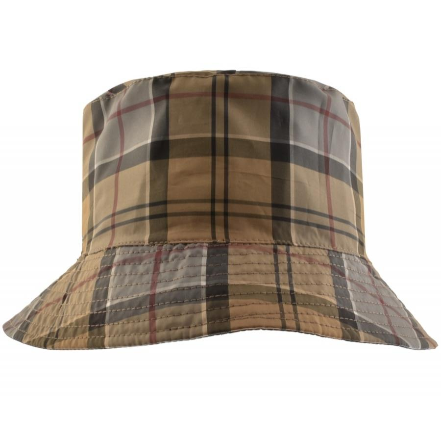 aedcc961cb8 Barbour - Blue Waterproof Reversible Bucket Hat Navy for Men - Lyst. View  fullscreen