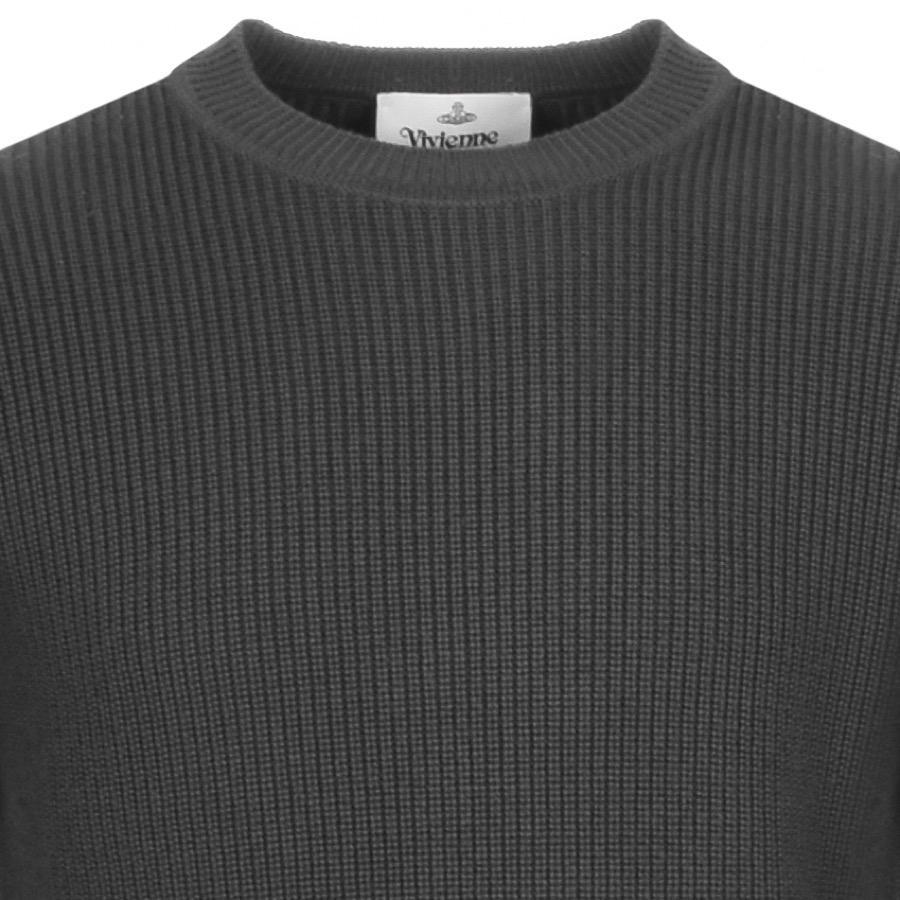 fb2bb6c5d280f Vivienne Westwood - Gray Crew Neck Knit Jumper Grey for Men - Lyst. View  fullscreen