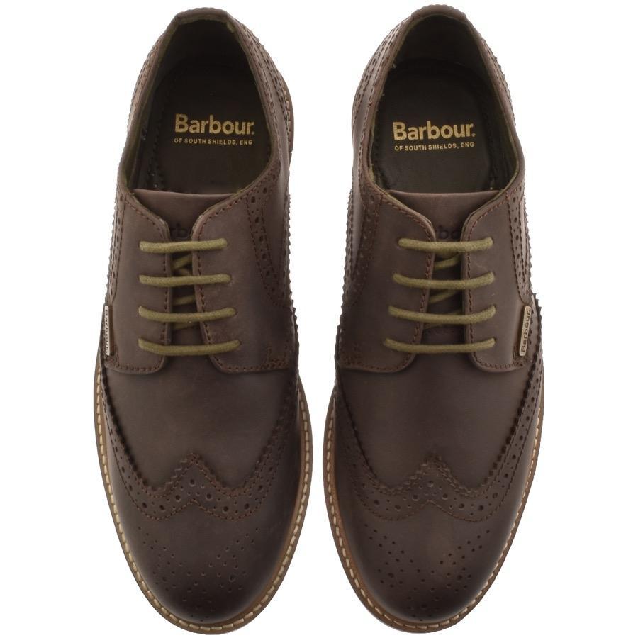 Barbour Lace Bamburgh Brogue Shoes