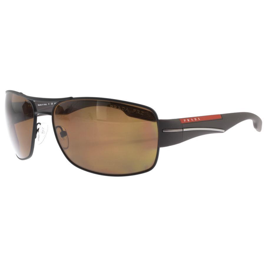 00590d8f13f1 Prada Linea Rossa Sunglasses Brown in Brown for Men - Lyst