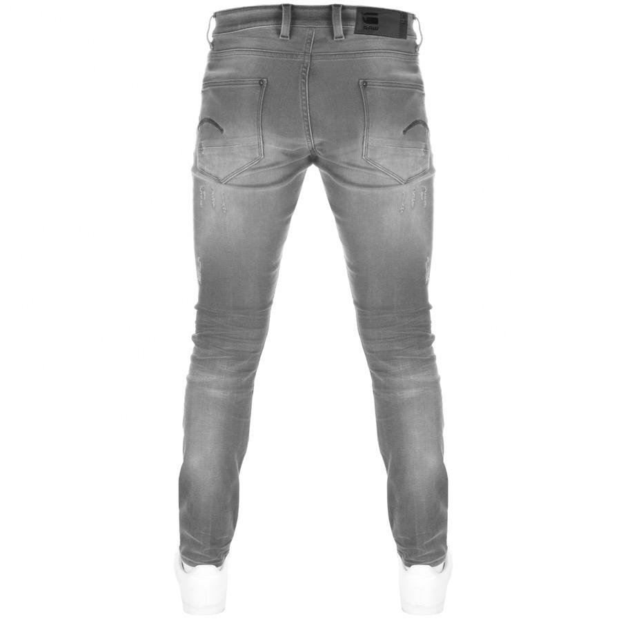 826e689f G-Star RAW - Gray Revend Super Slim Jeans Grey for Men - Lyst. View  fullscreen