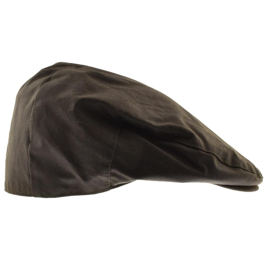 1c451cdbbba9cd Barbour Waxed Flat Cap Green in Green for Men - Lyst