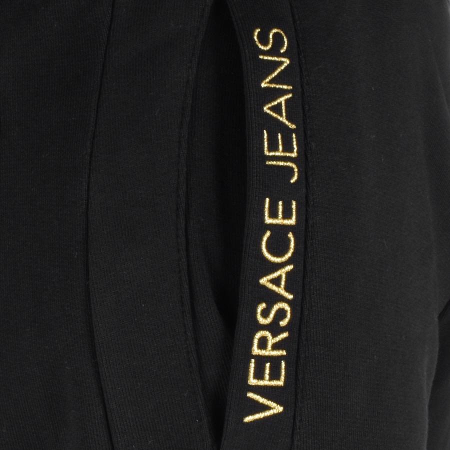 Versace Jeans Couture Denim Jogging Bottoms Black for Men