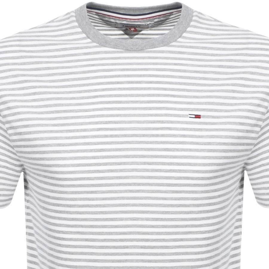 5f9e61ab Tommy Hilfiger Classic Stripe T Shirt Grey in Gray for Men - Lyst