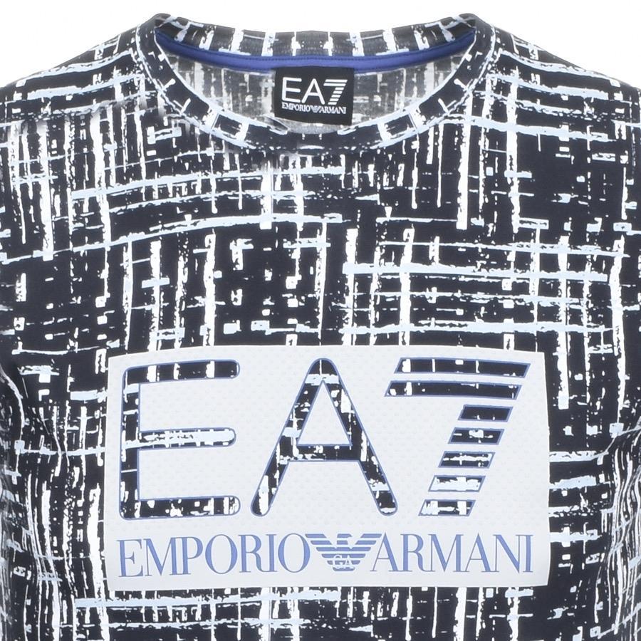 dfe70d19e Lyst - Ea7 Visibility T Shirt Black in Black for Men