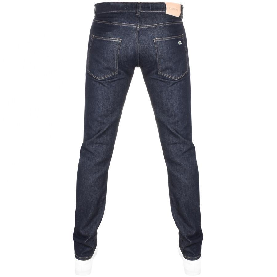 75cfa009 Lacoste Slim Fit Jeans Rinse Denim Blue for men