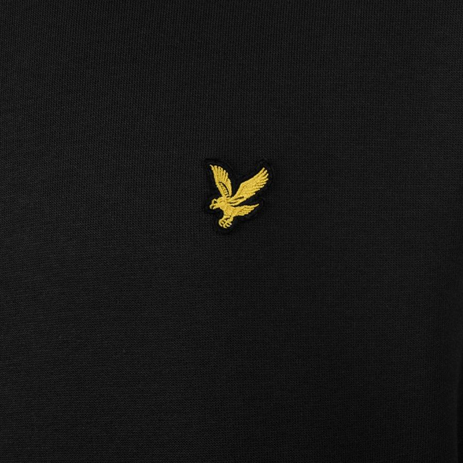 Lyle & Scott Cotton Lyle And Scott Crew Neck Sweatshirt Black for Men - Save 77%