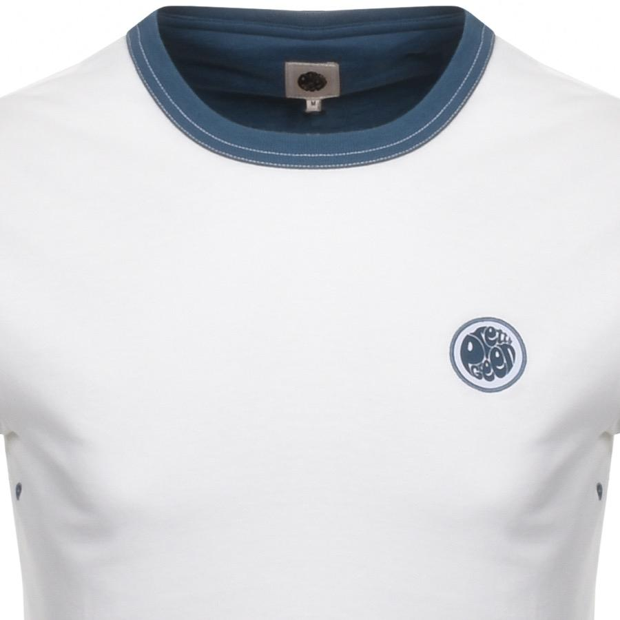 b5ccd15c294c Pretty Green Milford Crew Neck T Shirt White in White for Men - Lyst