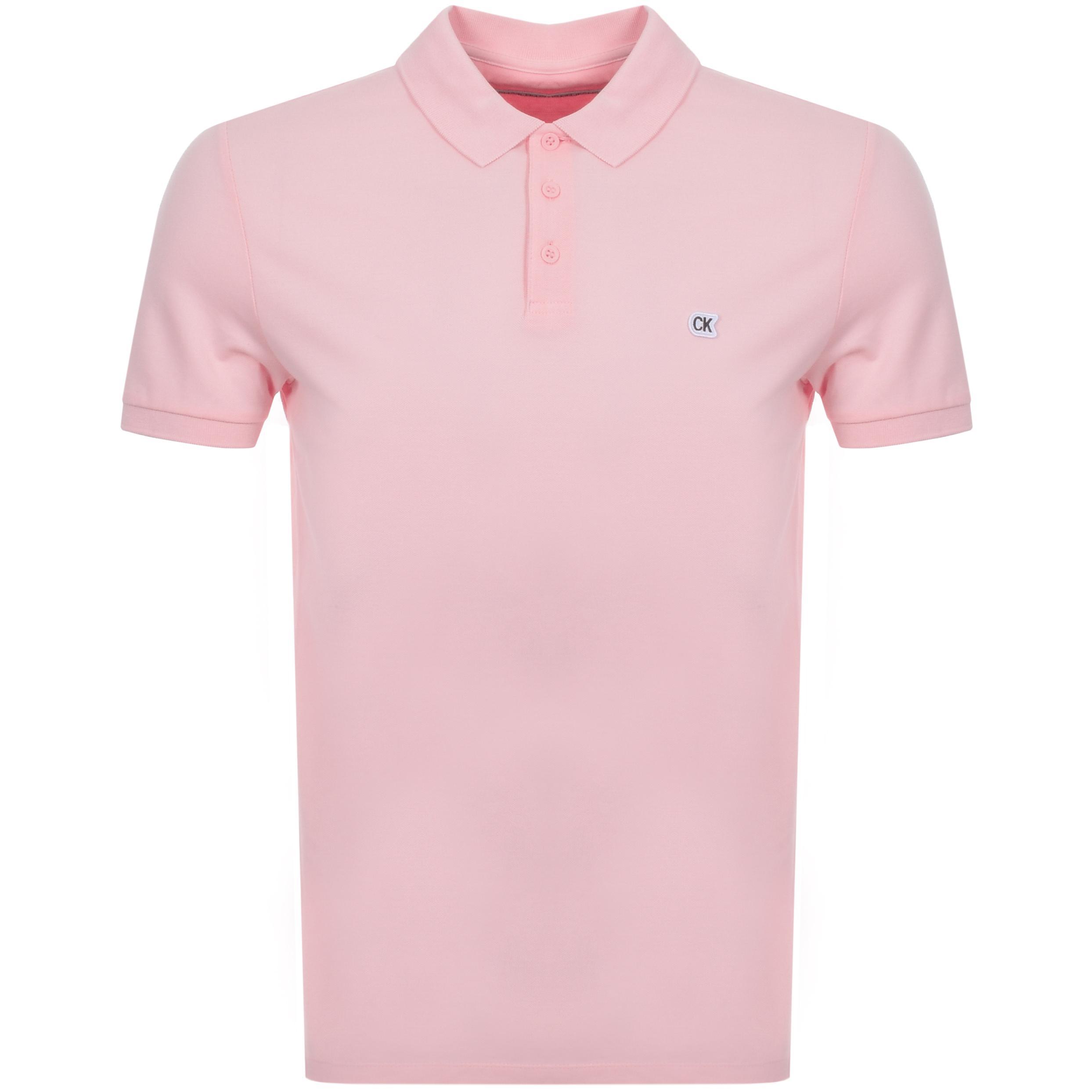 calvin klein pink shirt