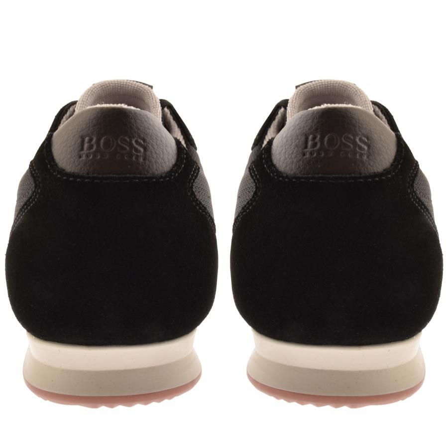 BOSS by Hugo Boss Boss Orange Orland Lowp Trainers Black in Black ... 40412d23cd3
